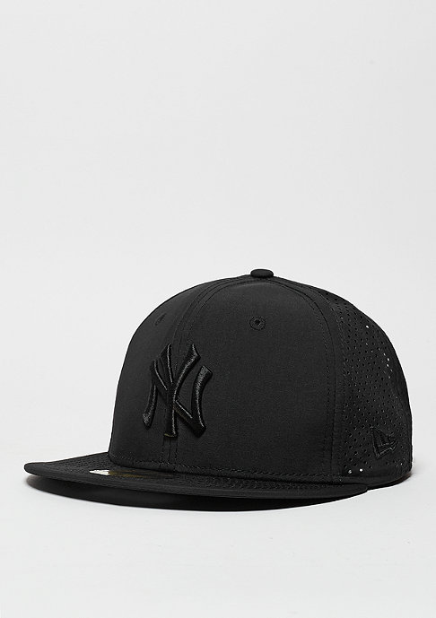 New Era Team Ripstop Perf MLB New York Yankees black/black