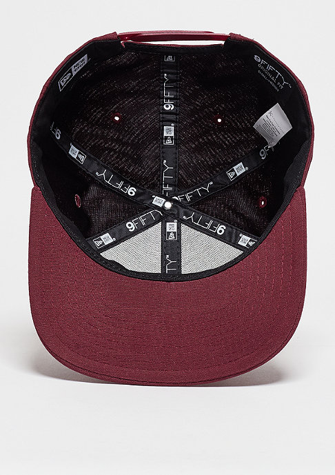 New Era Oxford Patch maroon