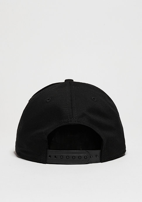 New Era Snapback-Cap Metal Badge black/grey