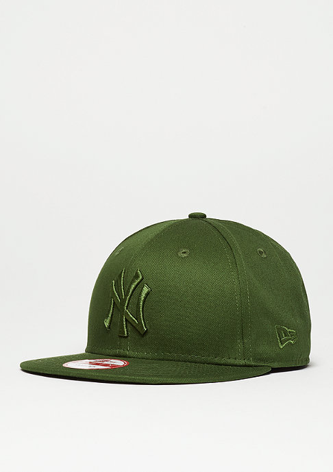 New Era Snapback-Cap League Essential MLB New York Yankees rifle green