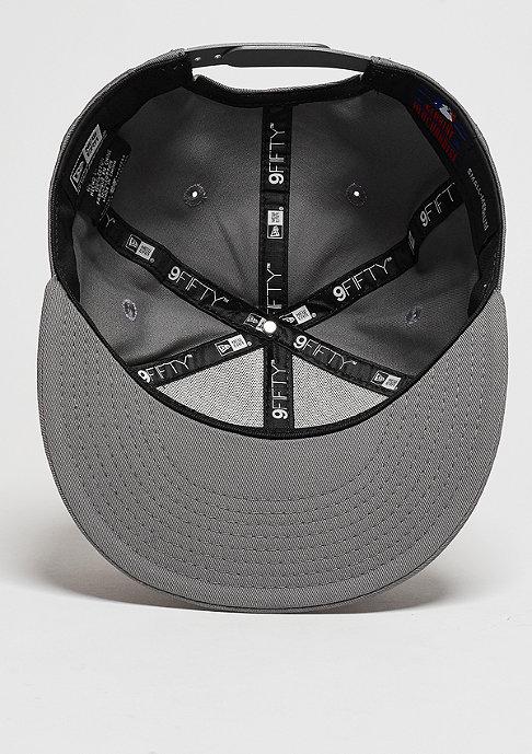 New Era Snapback-Cap League Essential MLB New York Yankees storm grey