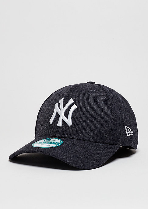 New Era Baseball-Cap Heather Essentials MLB New York Yankees heather navy