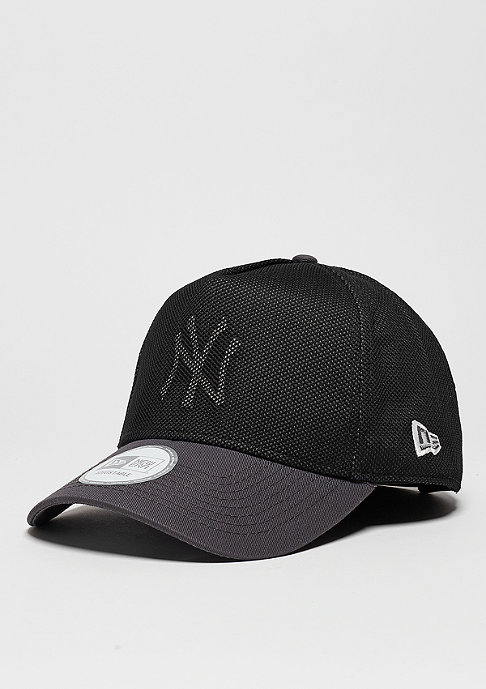 New Era Cut Out Mesh MLB New York Yankees graphite