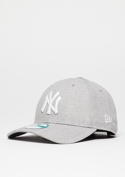 New Era Heather Essentials 9Forty MLB New York Yankees heather grey