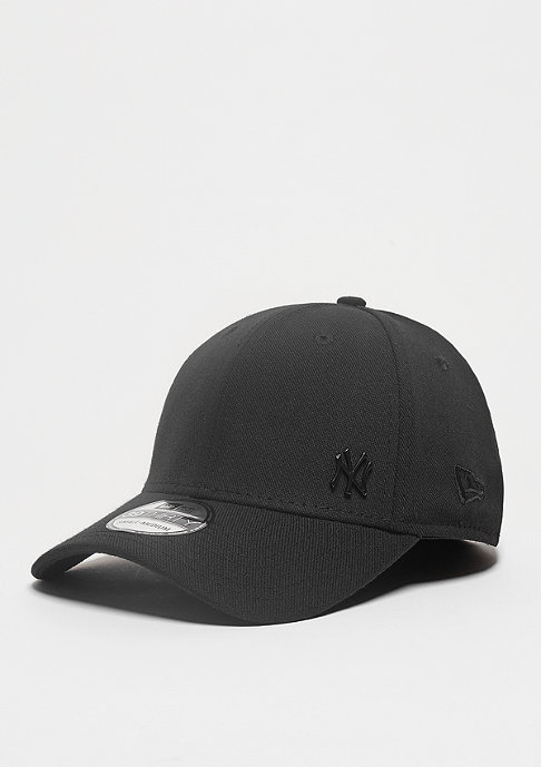 New Era Baseball-Cap Flawless Matte 39Thirty MLB New York Yankees black