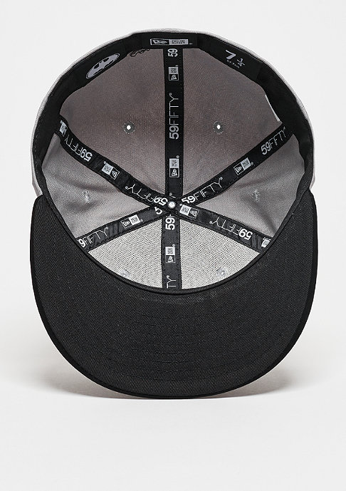 New Era Fitted-Cap Team Duck Canvas 59Fifty Batman grey/black