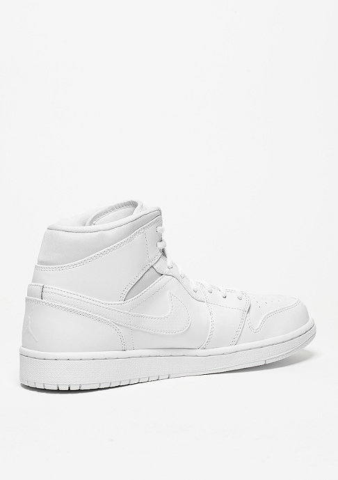 JORDAN Air Jordan 1 Mid white/black/white