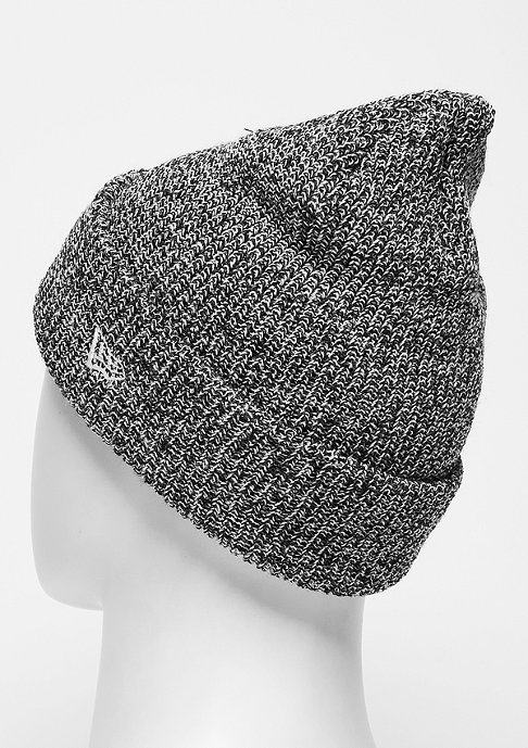 New Era Beanie Twist Yarn Cuff MLB New York Yankees black/optic white
