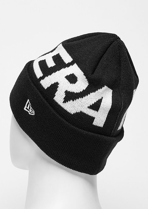 New Era Beanie Word Cuff black