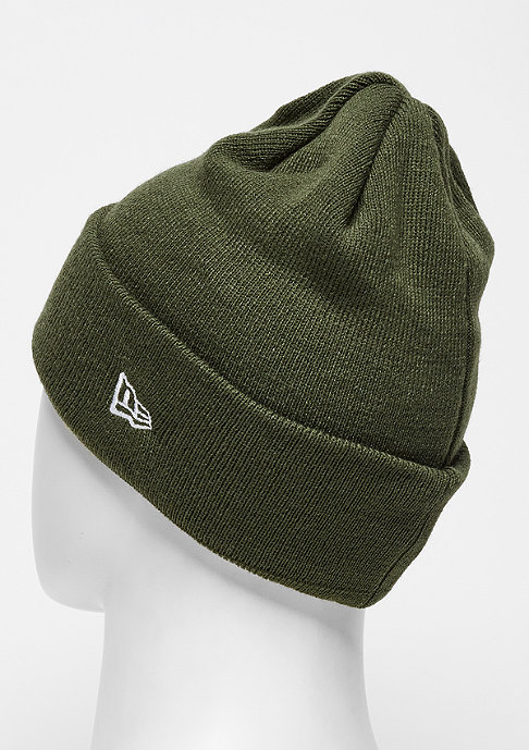 New Era Beanie Essential Cuff MLB New York Yankees rifle green