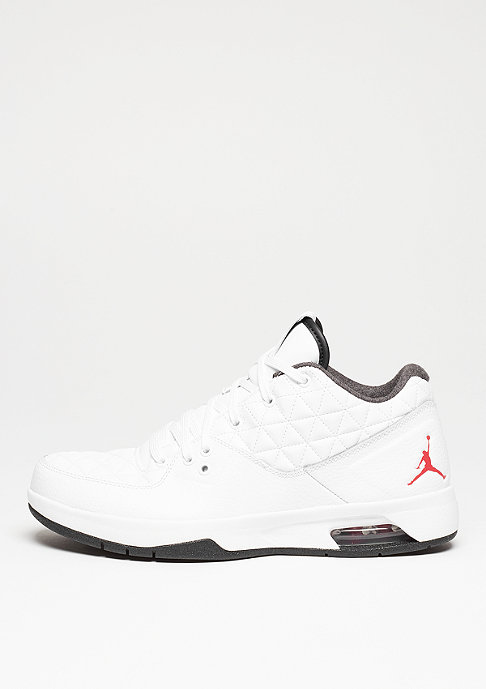 JORDAN Basketballschuh Clutch white/gym red/black