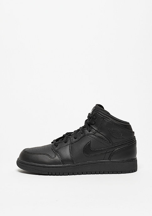 JORDAN Basketballschuh Air Jordan 1 Mid (GS) black/white