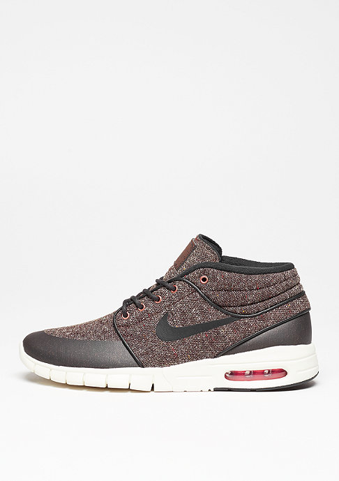 NIKE SB Stefan Janoski Max Mid baroque brown/black/crimson