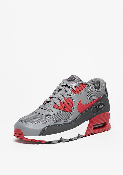 NIKE Air Max 90 Mesh cool grey/gym red/anthracite