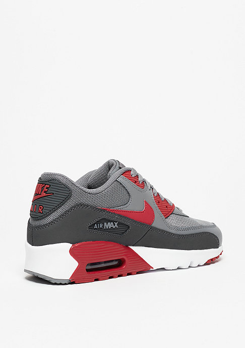 NIKE Schuh Air Max 90 Mesh (GS) cool grey/gym red/anthracite