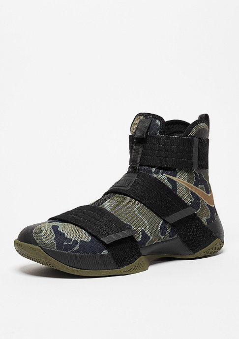 NIKE Lebron Soldier 10 SFG black/bamboo/medium olive