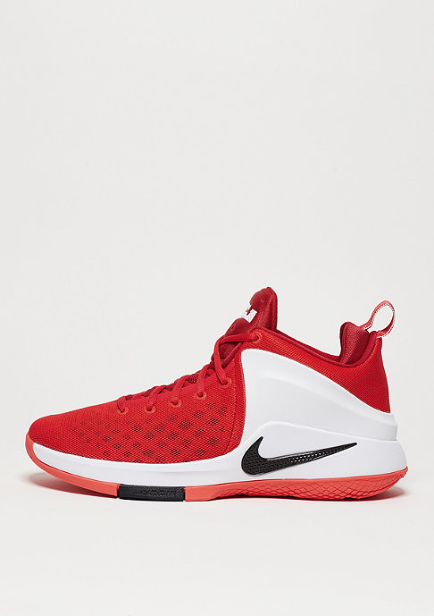 NIKE Basketballschuh Zoom Witness university red/black/white