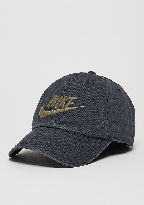 NIKE Baseball-Cap Heritage 86 Futura black/black/medium olive