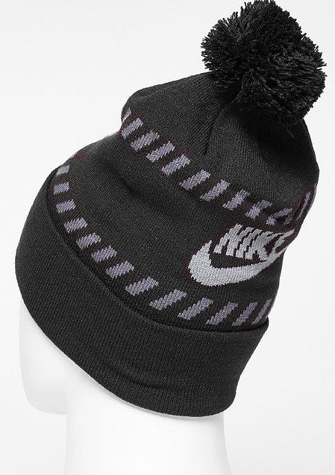 NIKE Beanie Futura Pom black/cool grey/dark grey