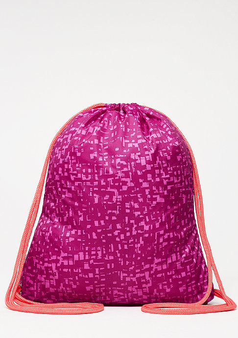 NIKE Graphic Gym Sack dynamic berry/ember glow/ember glow