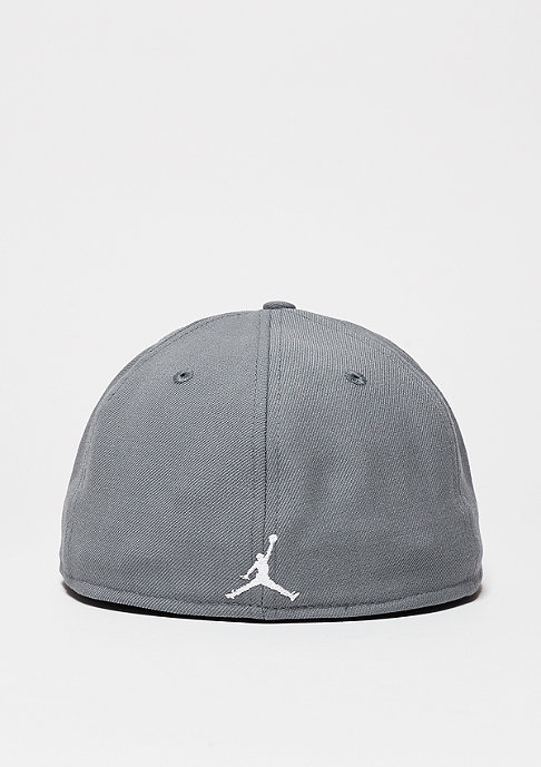JORDAN Fitted-Cap Jumpmann cool grey/white