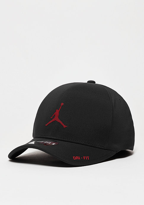 JORDAN Baseball-Cap Classic 99 Hat black/gym red