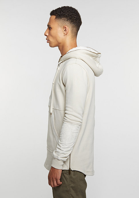Black Kaviar Hooded-Sweatshirt Klayton Beige