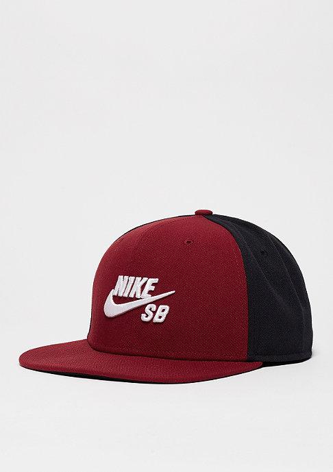 NIKE SB Icon team red/black/black