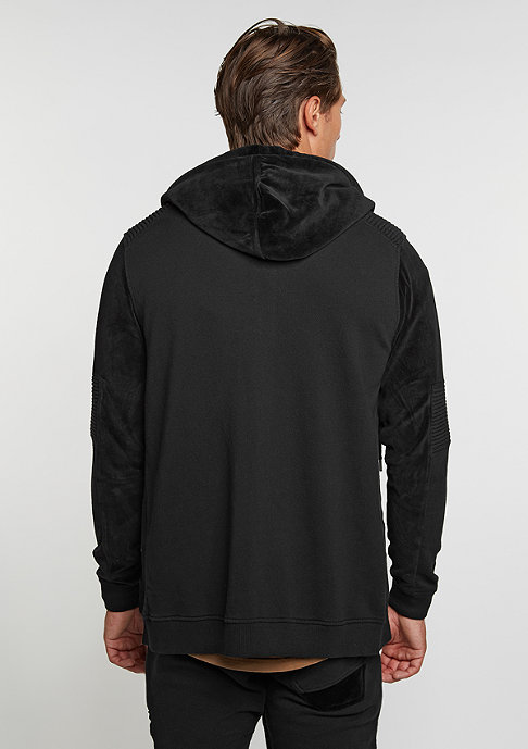 Black Kaviar Hooded-Zipper Sweat Keaton Black