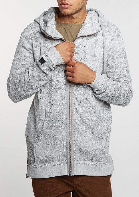 Black Kaviar Hooded-Zipper Kloser Grey