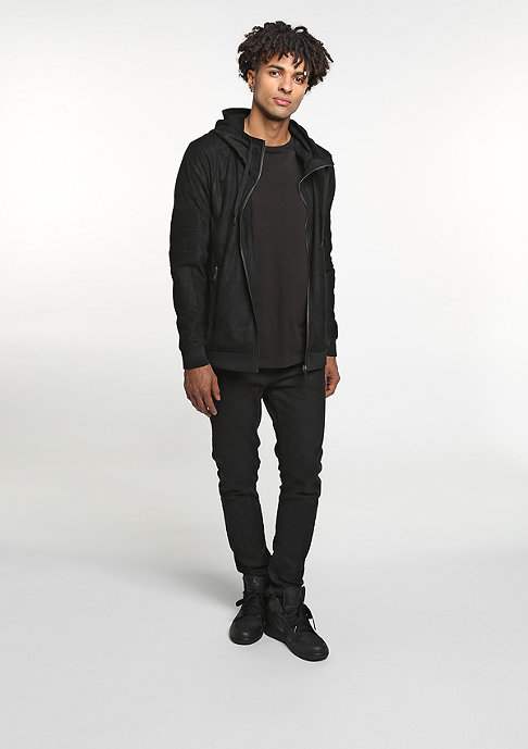 Black Kaviar Hooded-Zipper Kyog Black