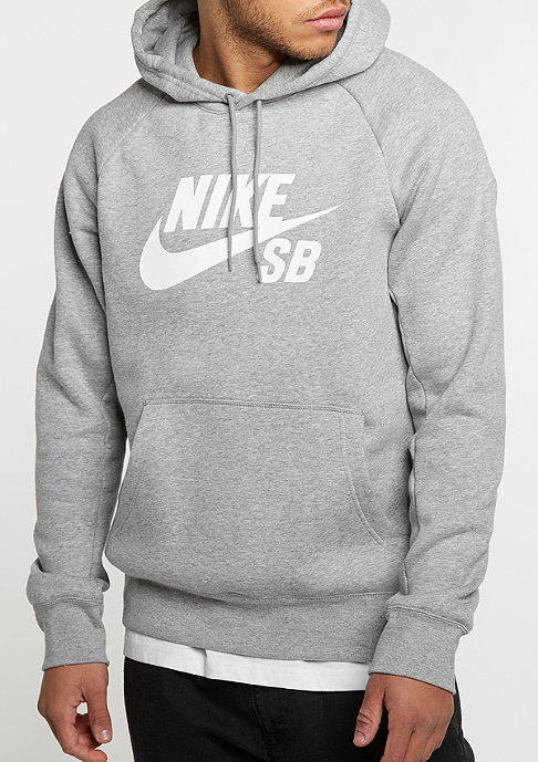 NIKE SB Icon dark grey heather/white