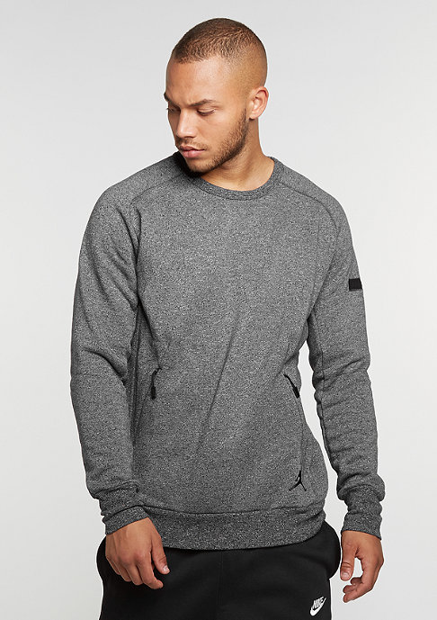 NIKE Sweatshirt Icon Fleece Crew black/black