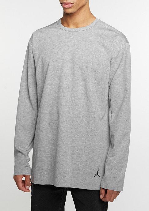 NIKE 23 Lux Extended LS dk grey heather/black