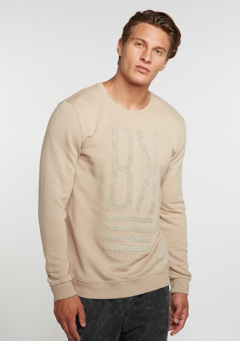 Black Kaviar Sweatshirt Kiss beige