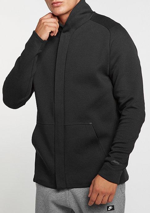 NIKE Übergangsjacke Sportswear Tech Fleece black/black