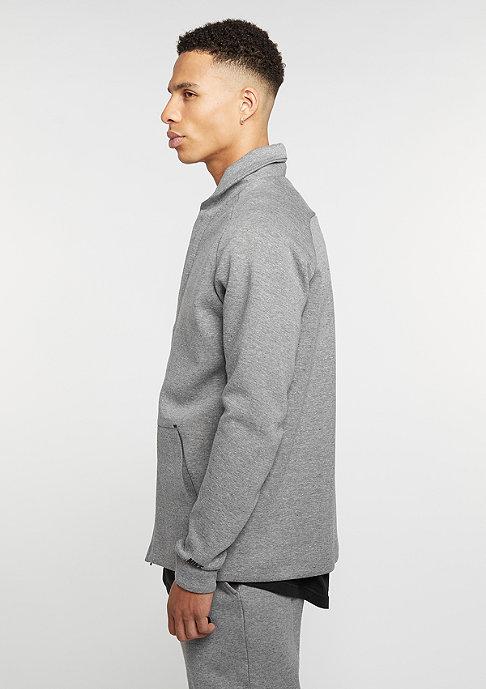 NIKE Übergangsjacke Sportswear Tech Fleece carbon heather/black