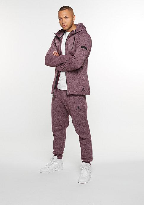 JORDAN Icon Fleece Cuff Pant might maroon/black