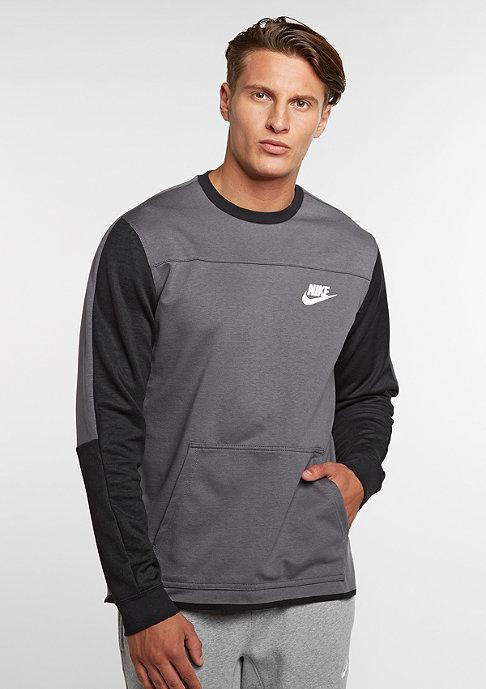 NIKE Sweatshirt Advance 15 dark grey/black/black