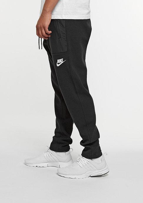 NIKE Sportswear Pant black/white