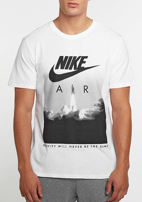NIKE T-Shirt Air Rocket white/white/black