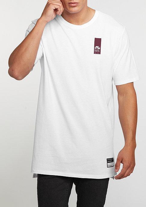 NIKE Air Brand Mark white/white/night maroon