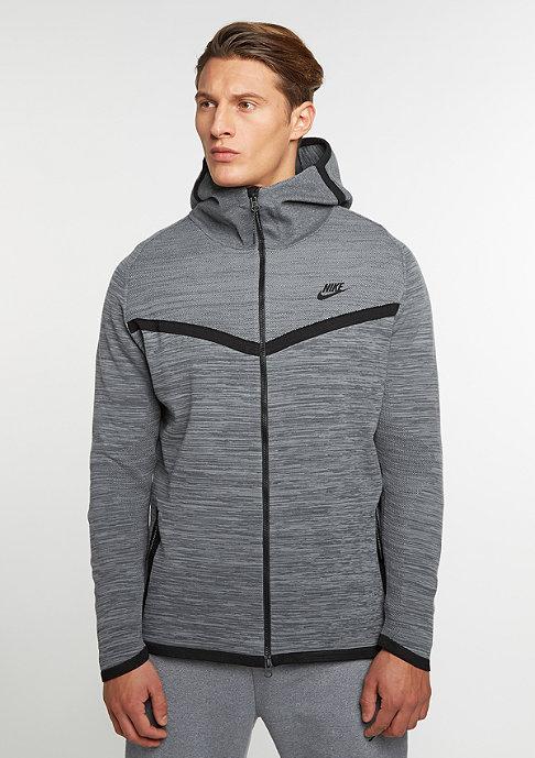 NIKE Sportswear Tech Knit Windrunner cool grey/dark grey/black