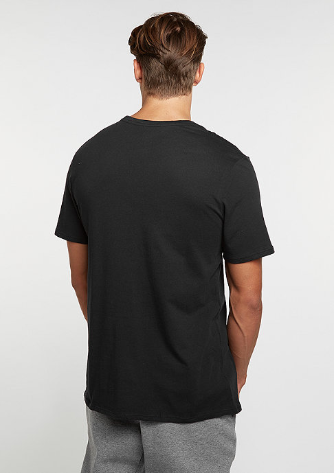 NIKE T-Shirt Club EMBRD black/black