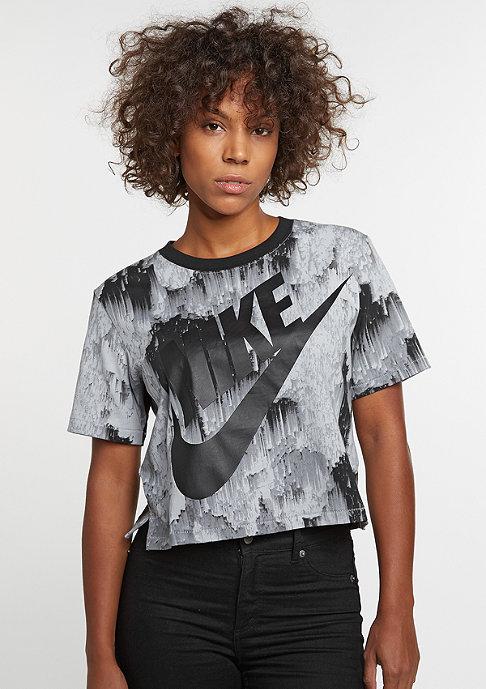 NIKE Top Crop NLGHTS black/black