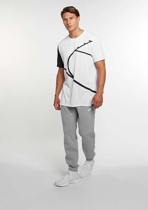 NIKE T-Shirt Core Art 4 white/black/white