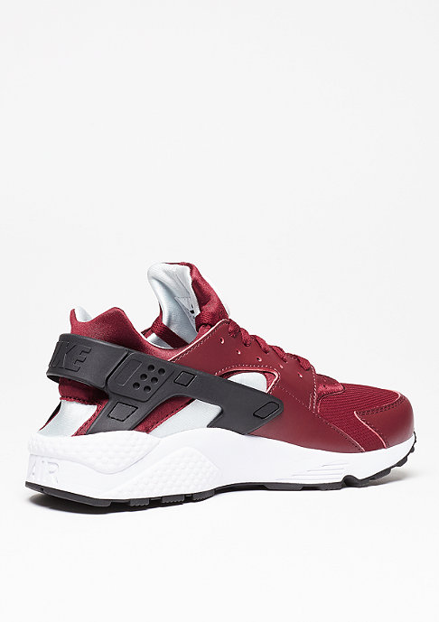 NIKE Laufschuh Air Huarache team red/black/pure platinum