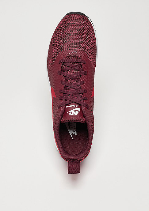 NIKE Laufschuh Air Max Tavas night maroon/gym red/black