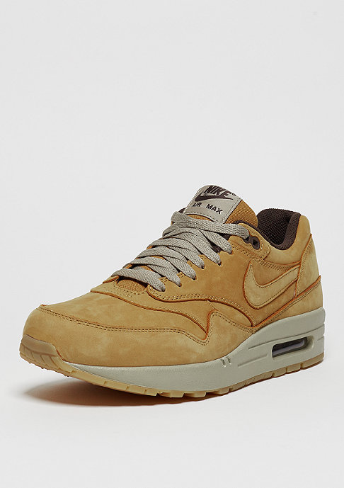 NIKE Schuh Air Max 1 Leather Premium bronze/bronze/baroque brown