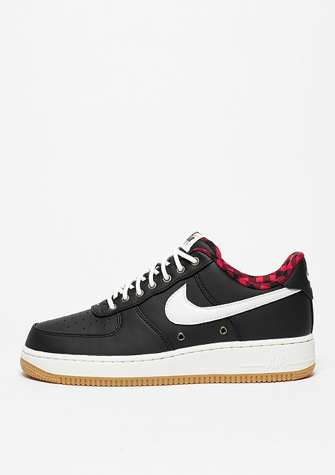 NIKE Air Force 1 07 LV8 black/sail/action red
